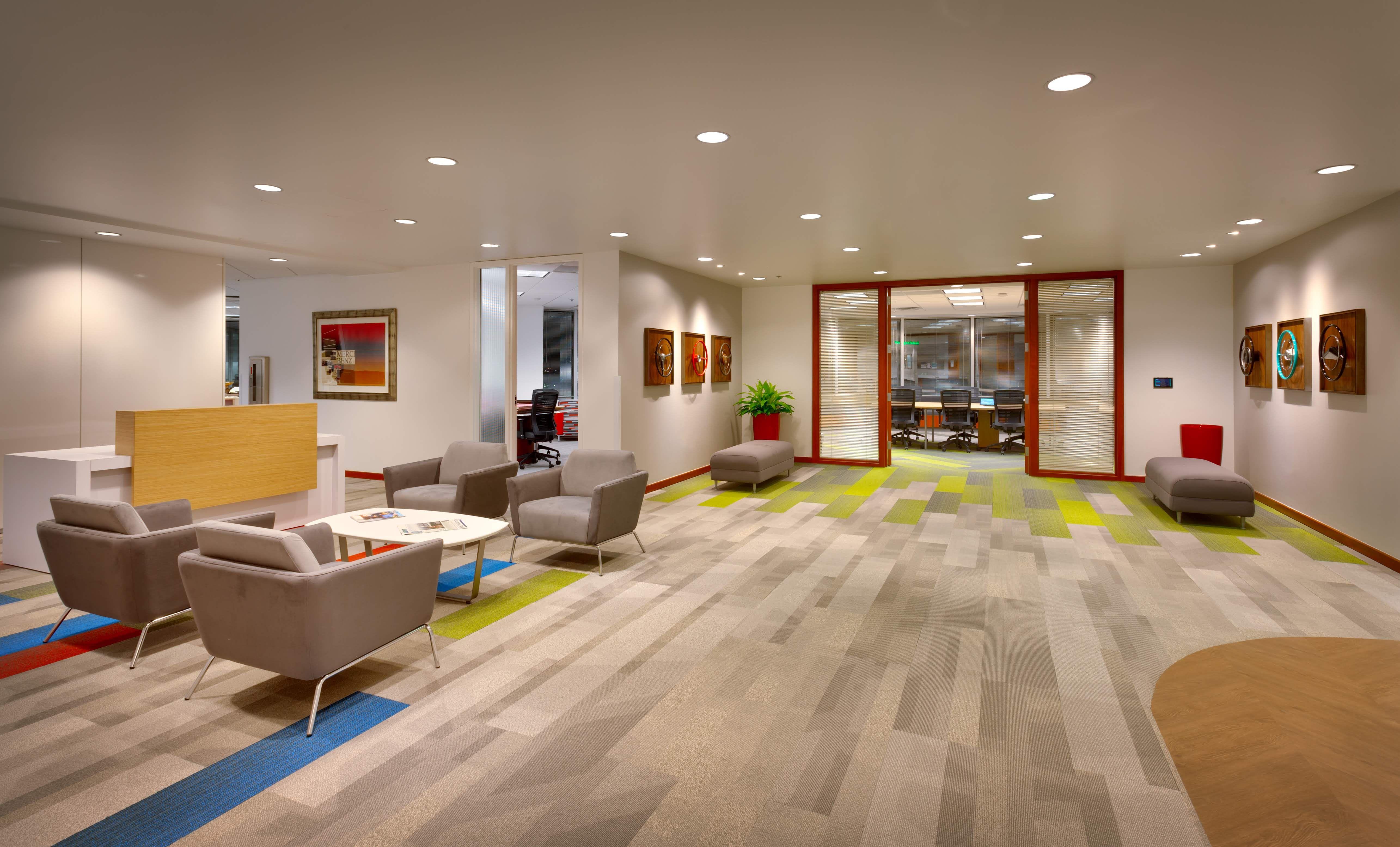 Award winning office space at ken garff headquarters in salt lake