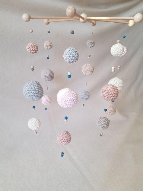 Photo of Wie häkelt man ein Baby Mobile – Bälle, Kugeln, Perlen