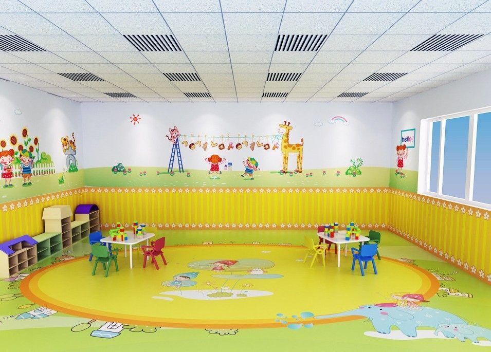 Classroom Designer 3d ~ Anaokulu kayıt için çocuk oyunları sınıf tasarım