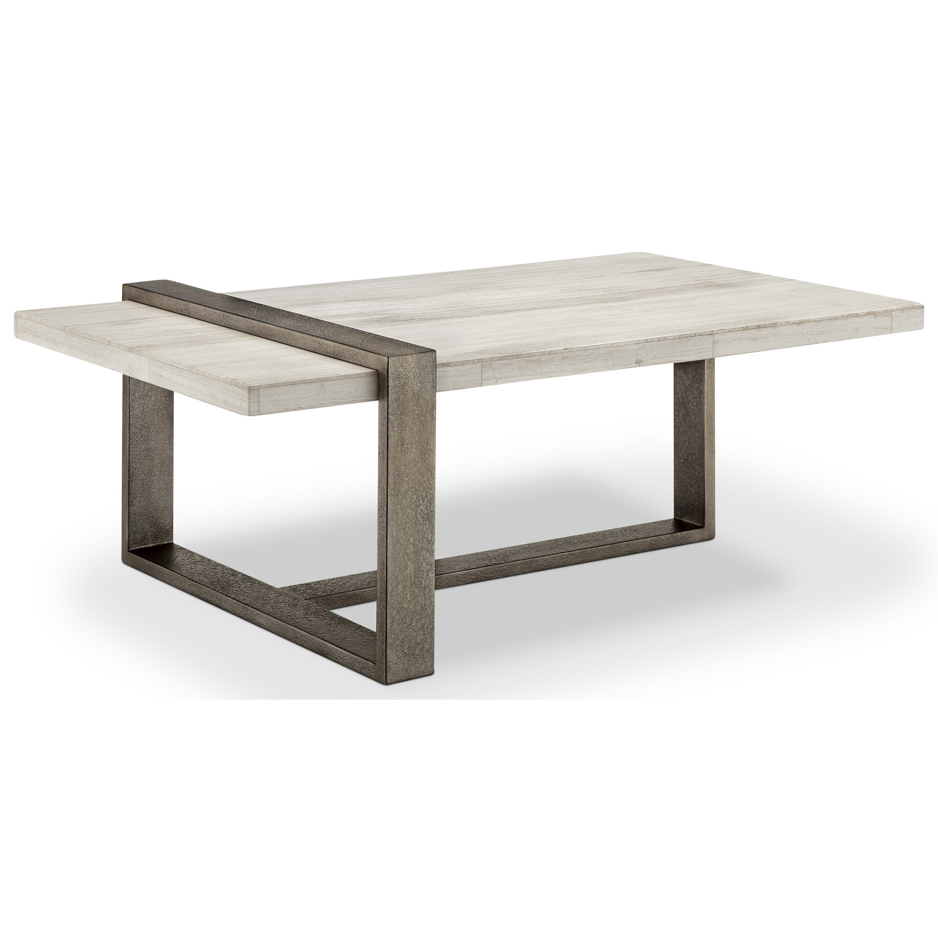 Wiltshire Mh Contemporary Rectangular Cocktail Table With Metal Base By Belfort Select At Belfort Furniture Coffee Table Modern Coffee Tables Contemporary Coffee Table [ 3200 x 3200 Pixel ]