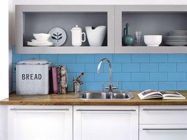 refaire sa cuisine pas cher le must des id es faciles peinture carrelage refaire sa cuisine. Black Bedroom Furniture Sets. Home Design Ideas