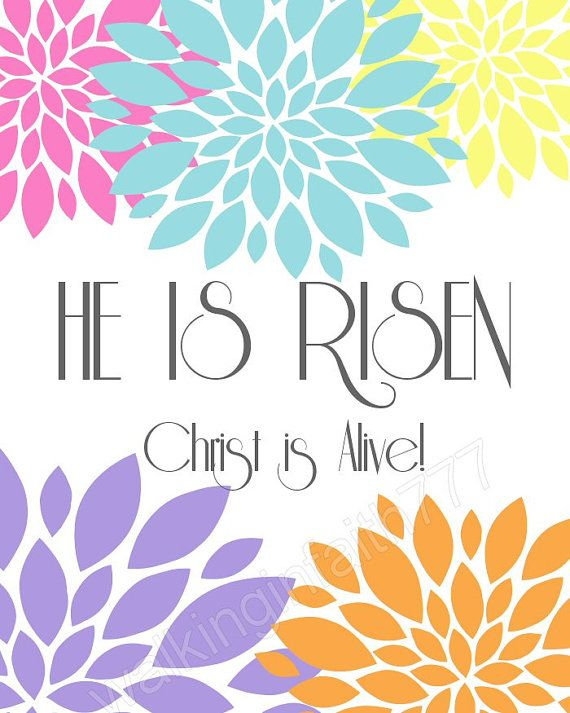 easter printable he is risen christ is alive by he is risen clipart image he is risen clipart for bulletins