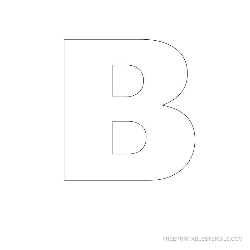 Stencils Letters Free Printable