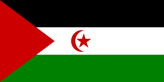 Western Sahara Flags Of Countries Banderas Del Mundo Con Nombres Banderas Del Mundo Banderas Africanas