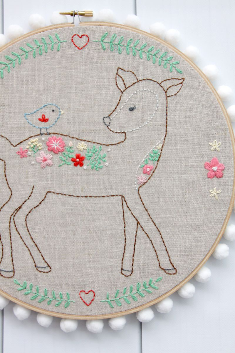 Easy diy phone charger holder embroidery patterns and needlework