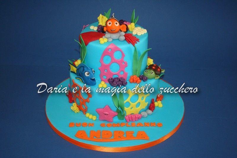 Torte Bambini ~ Torta nemo nemo cake nemo children cakes torte bambini