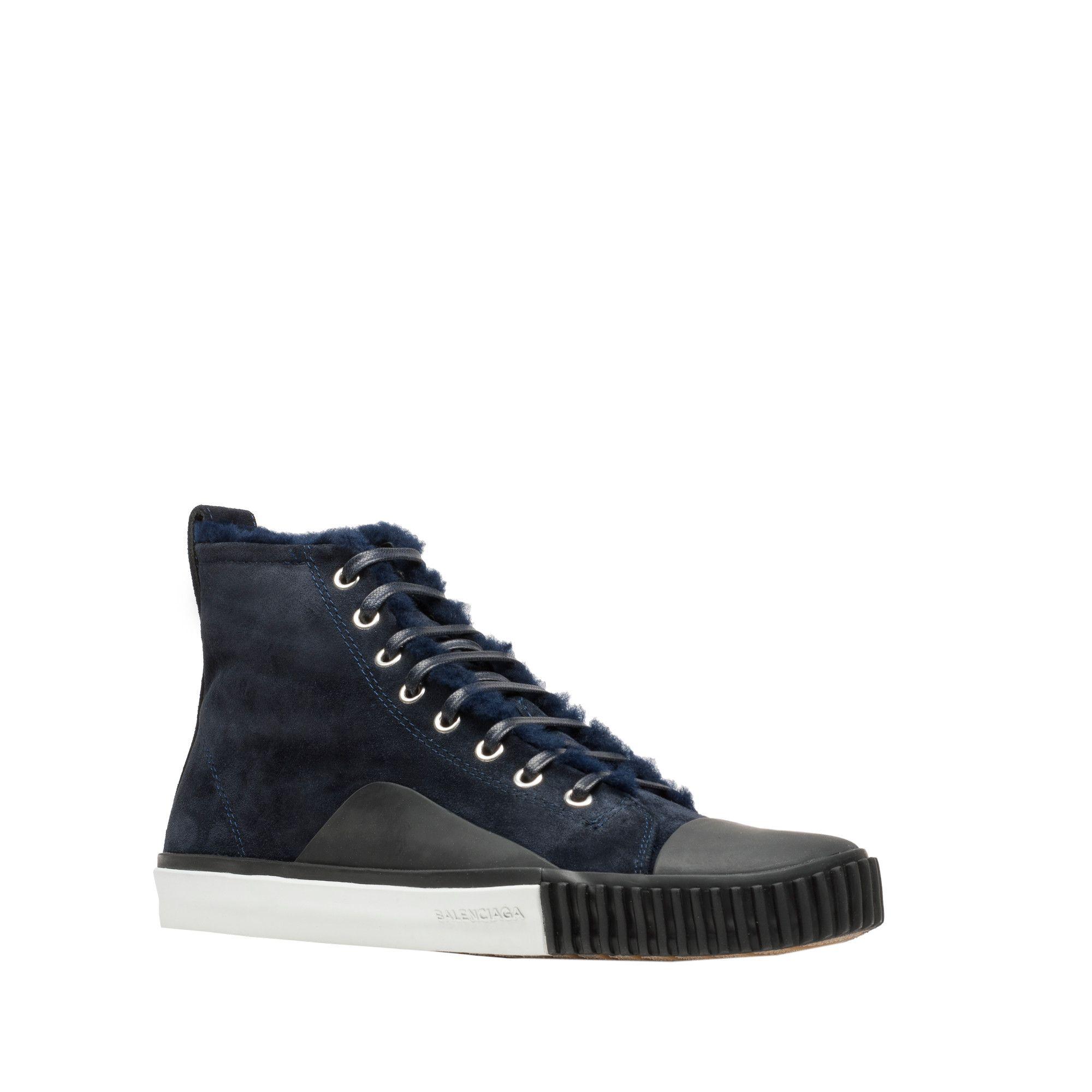 0b5c76c08934 Balenciaga S Triple S Balenciaga 2.0 Men Size US9  huge selection of 4f6e3  00411 Balenciaga Blue Young High Sneakers for Men Lyst ...