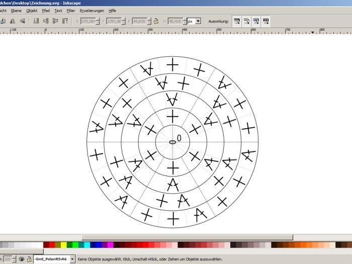 Häkelschrift am PC erstellen