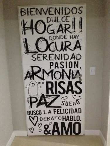 Vinilos decorativos para pared frases textos dise os for Vinilos pared frases