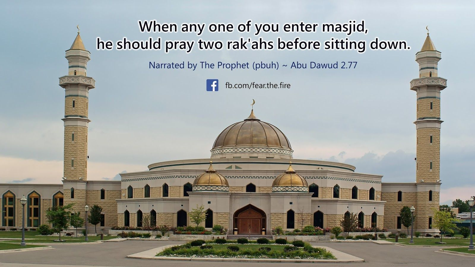 It is a preferred Sunnah of the Messenger of Allah (PBUH) to pray two rakahs whenever one enters a mosque.