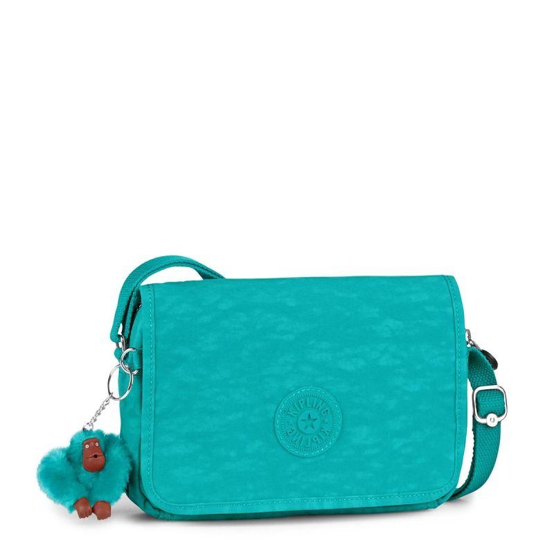 00d63fc38 Bolsa transversal DELPHIN N turquesa Cool Turquoise Kipling | purses ...