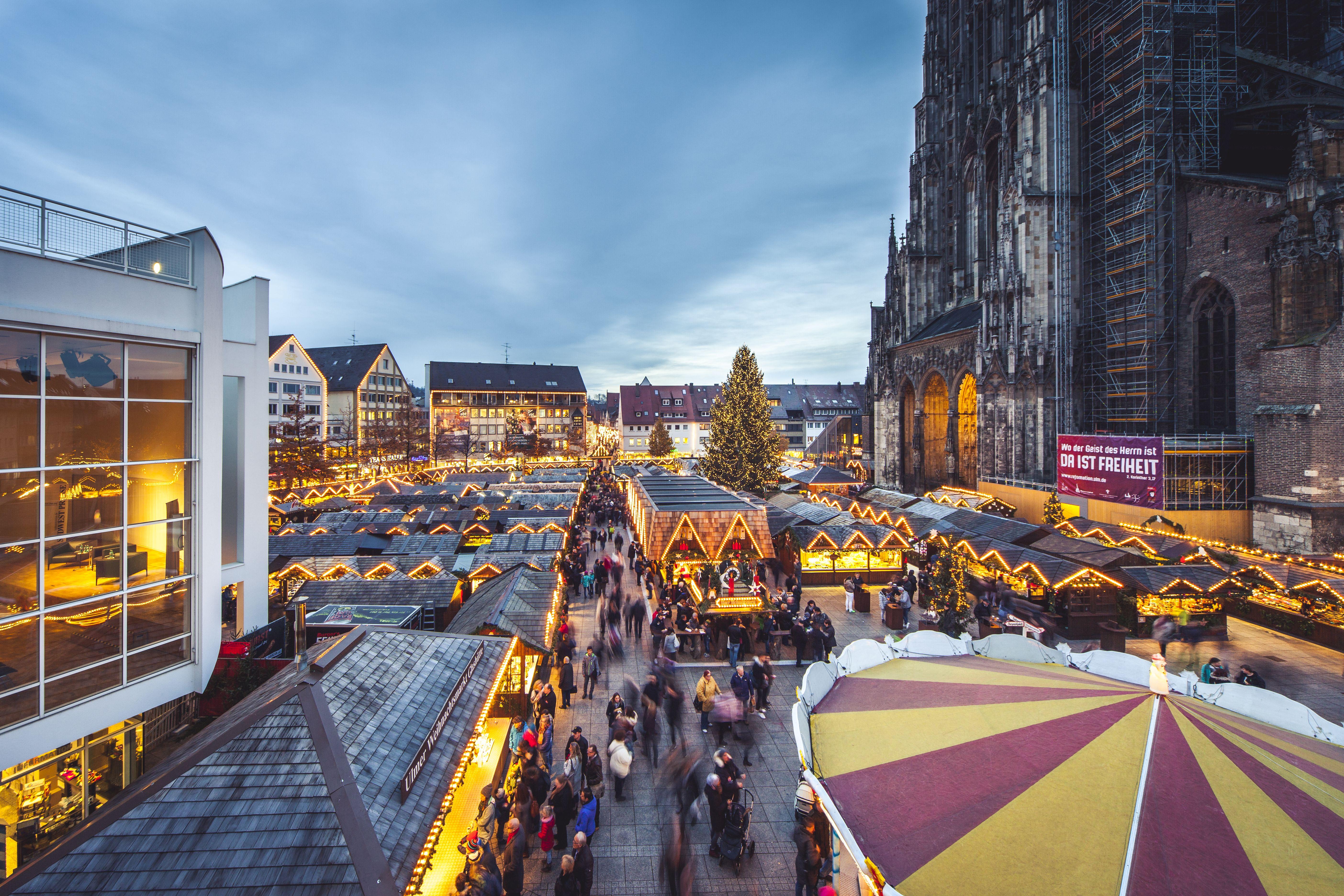 Ulm Weihnachtsmarkt.2018 Findet Der Ulmer Weihnachtsmarkt Vom 30 November Bis 22