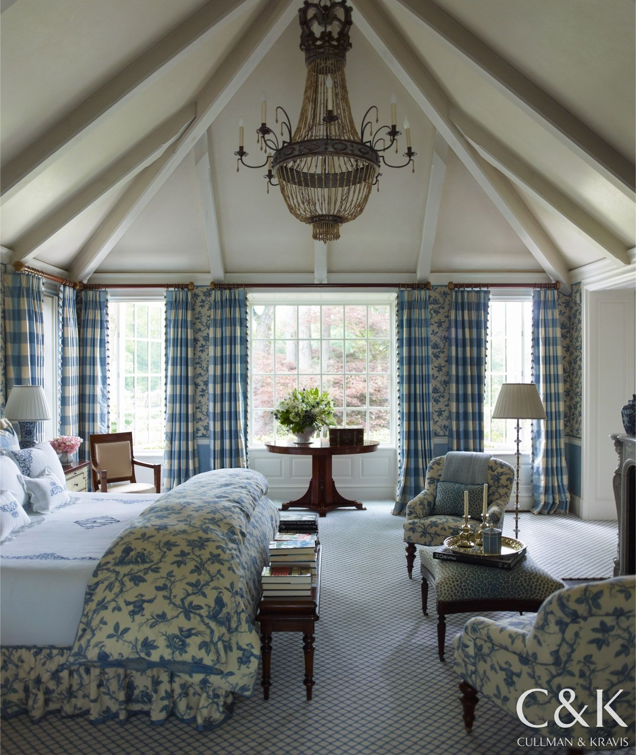 From the Portfolio of Cullman & Kravis: French Flair in Connecticut ...