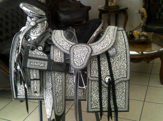 sillas para caballos monturas charreria horse