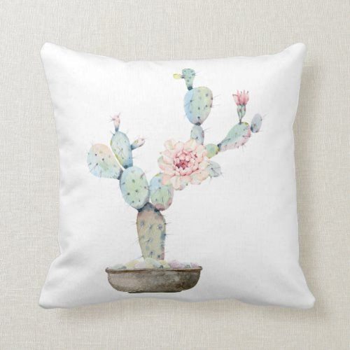 Square Cactus Dreams Throw Pillow  christmass decorations, maximalist decor, morrocan decor #homedecors #homedecoratingideas #homedecorloversid