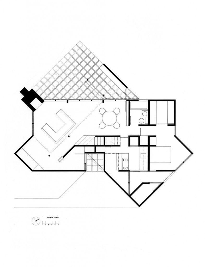 Hoffman House Richard Meier Partners Architects Richard Meier Layout Architecture Hoffman