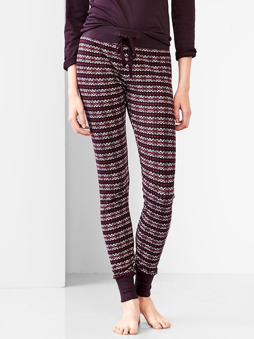 Fair isle knit leggings (newydd or navy) | GAP | £22.95 | pa ...