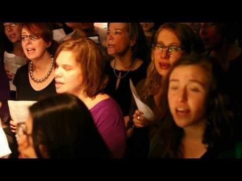 ▶ choir! choir! choir! sings Pat Benatar - We Belong (intro from songwriter Dan Navarro) - YouTube