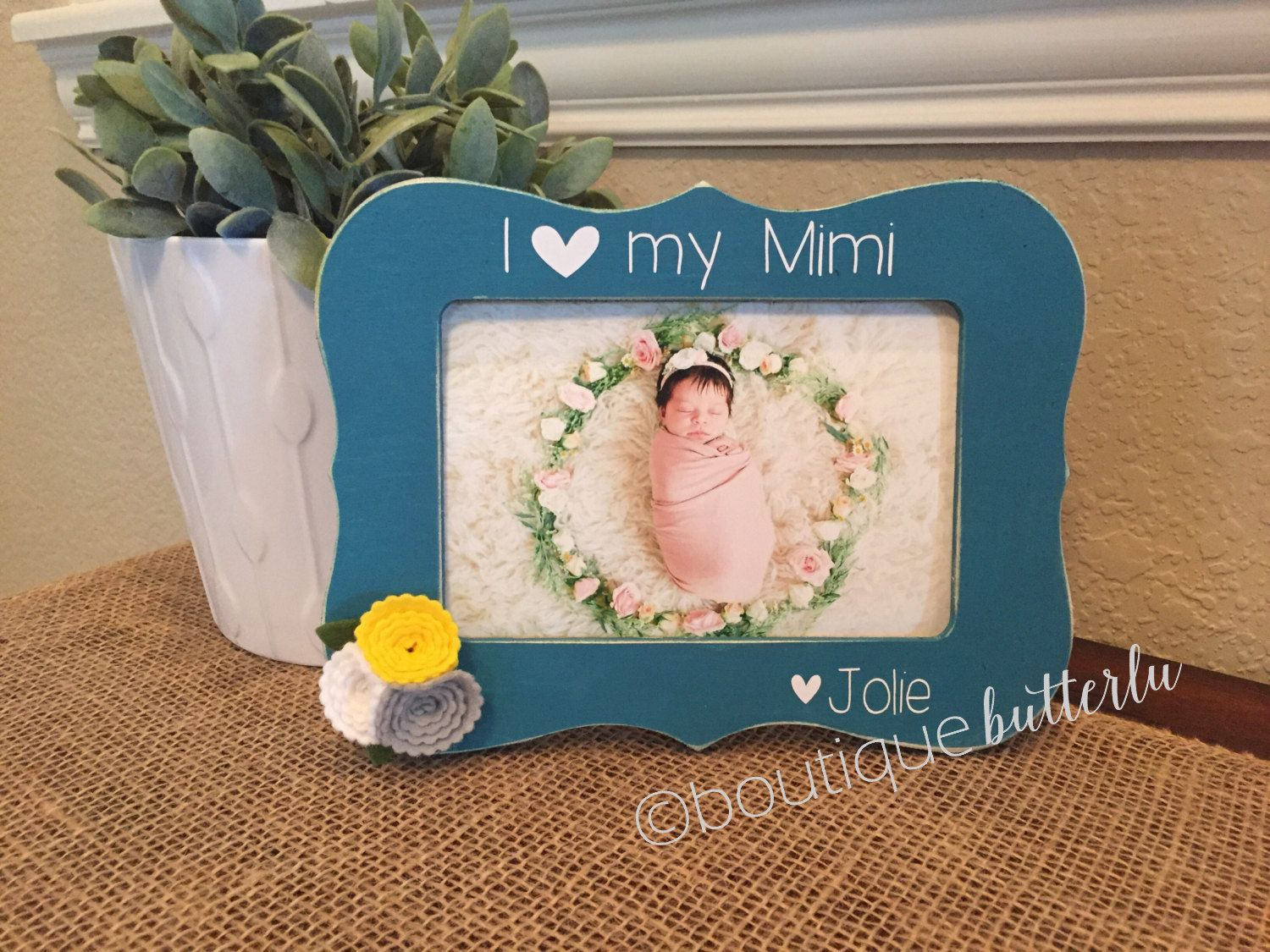 Personalized Mimi Gift I Love My Mimi Frame Picture Frame Gift For ...