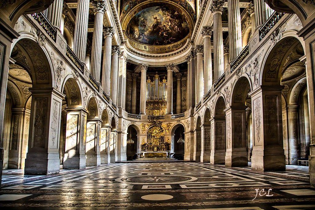 Palacio de Versalles, capilla Real, París Francia