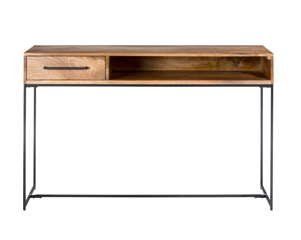 Moes Home Collection Sr 1027 Colvin 50 Inch Wide Mango Wood Console