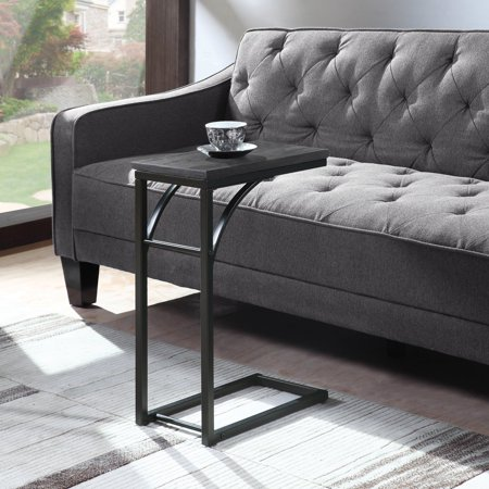 Fantastic Coaster Snack Table In Weathered Grey Black Size 16 Inchd X Short Links Chair Design For Home Short Linksinfo
