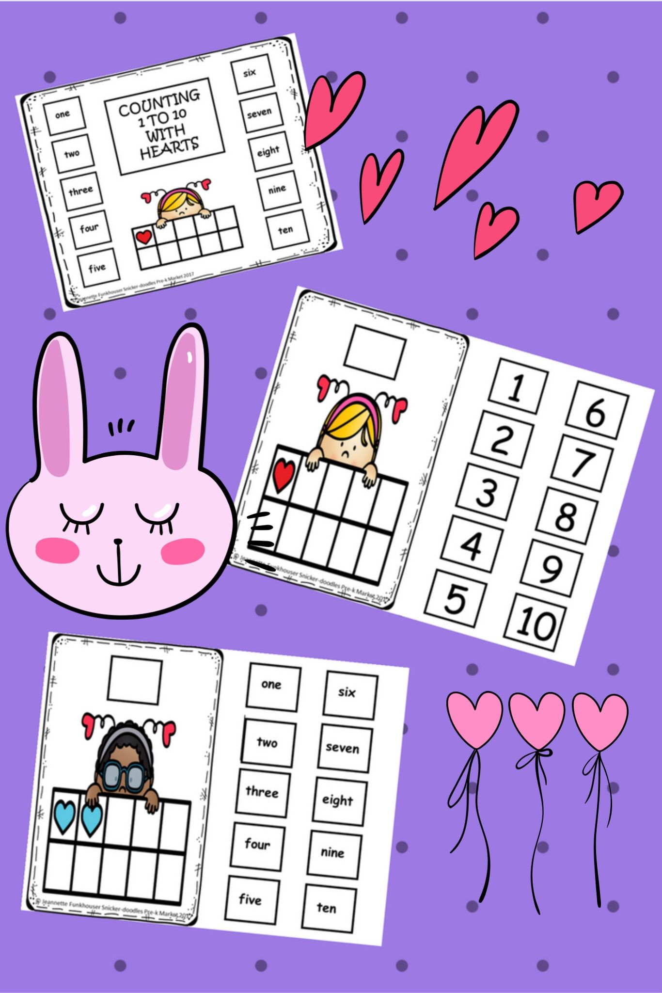 Reinforce Number Recognition With No Printing Valentine S