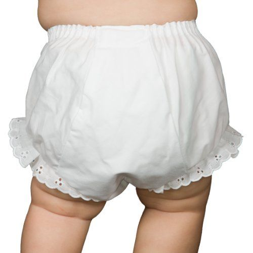 Collections Baby Girls Red Red Rumba Diaper Cover Bloomers Size XL I.C