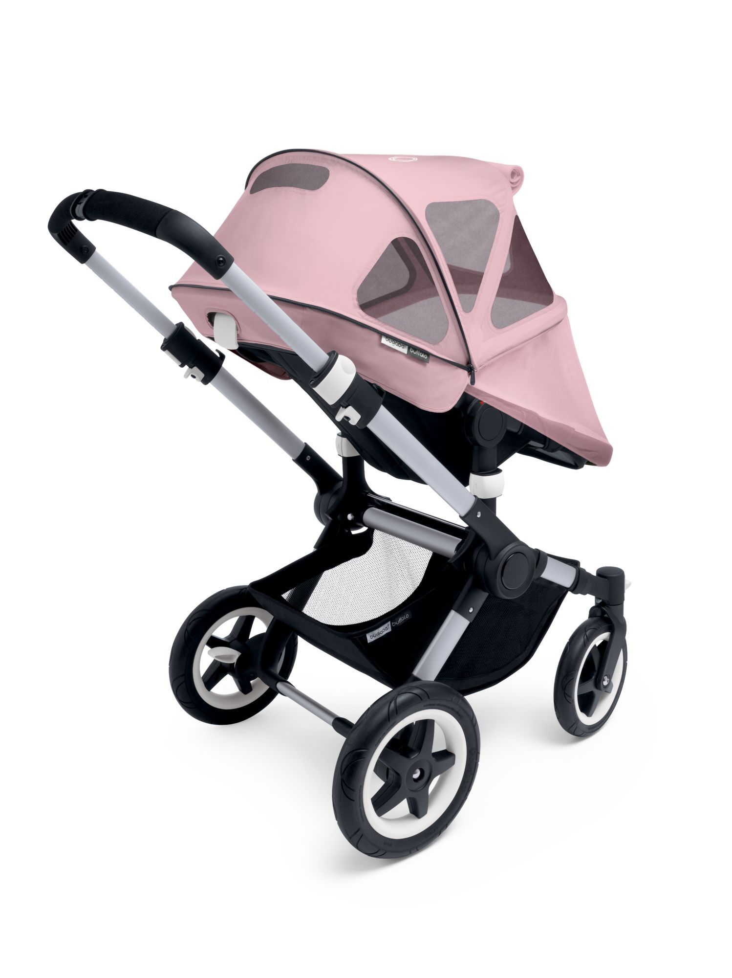 Bugaboo Buffalo and Runner Breezy Sun Canopy in Soft Pink