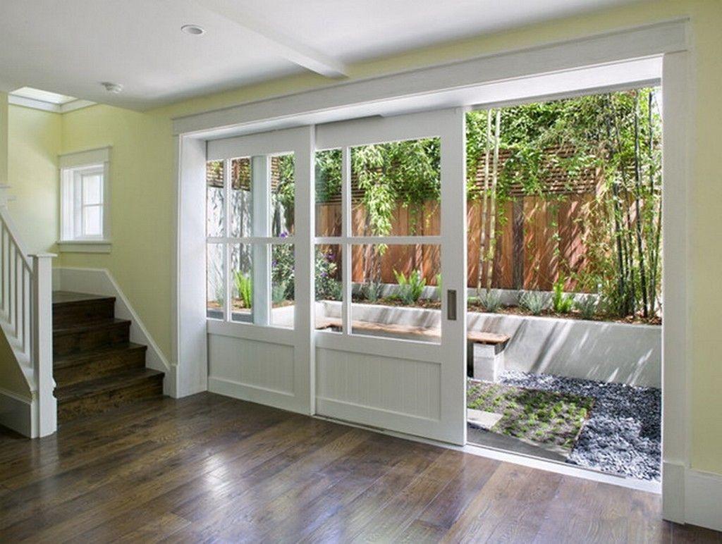 Sliding Glass Barn Doors Exterior House Design Home House