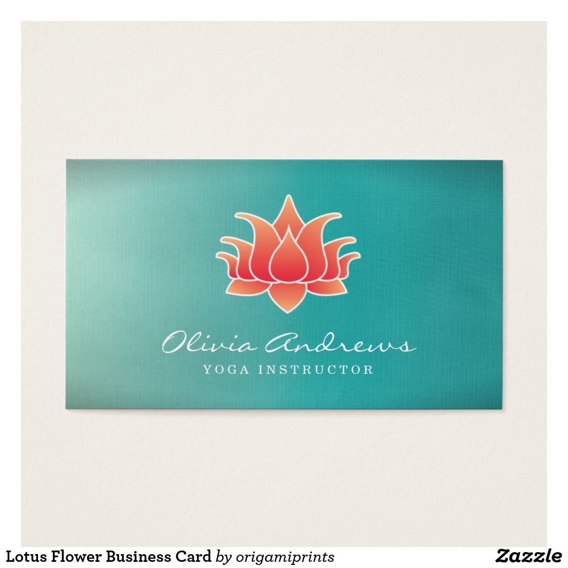 Fine Lotus Flower Business Cards Sketch - Business Card Ideas ...