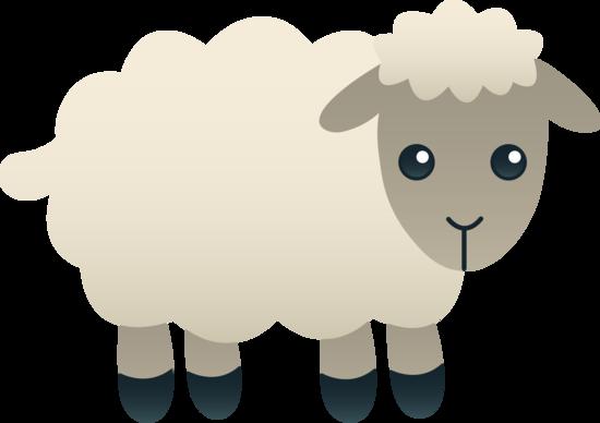 free clip art of a cute little fluffy white lamb sweet clip art rh pinterest com lamb clipart images lamb clip art silhouette