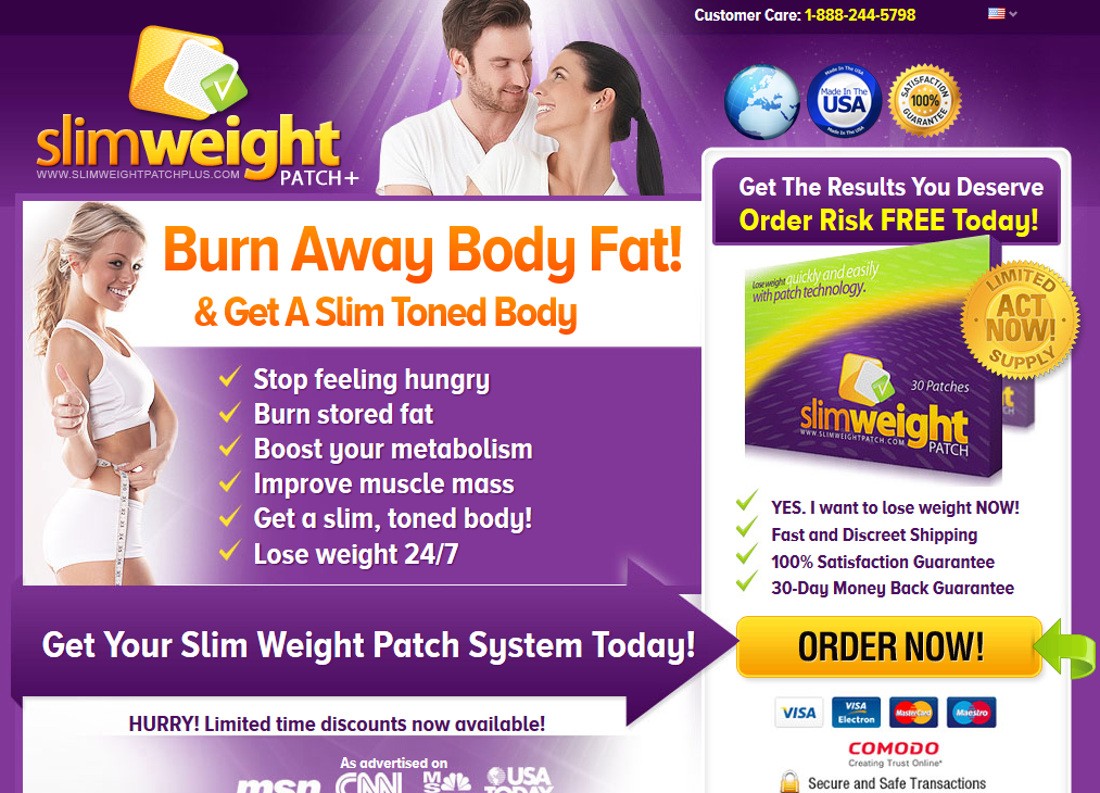 Slim Weight Patch Plus Is A Patch You Wear On Your Skin That Burns
