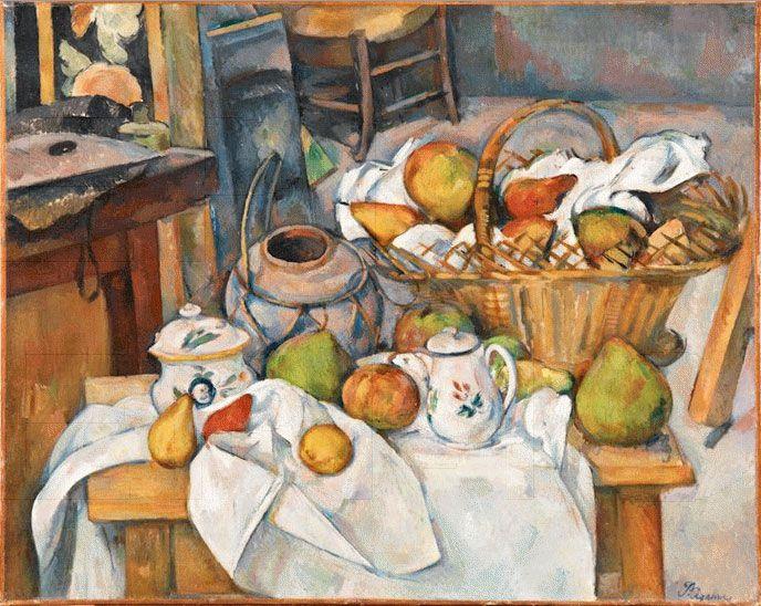 Charmant La Table De Cuisine #3: Paul Cézanne U2022 La Table De Cuisine, Entre 1888 Et 1890