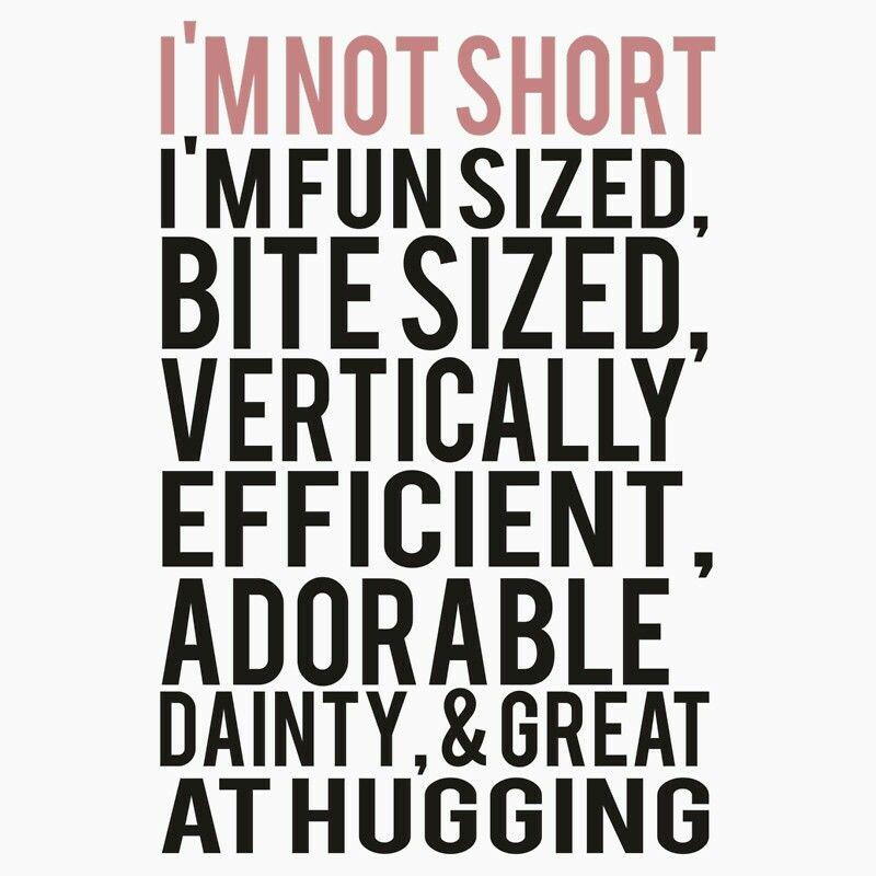 Finally A Prices Description Of Short Short People Quotes Short Girl Quotes Short Quotes