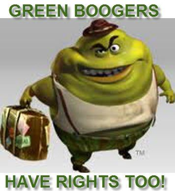 Get the Mucinex     get this Green Booger out of my nose