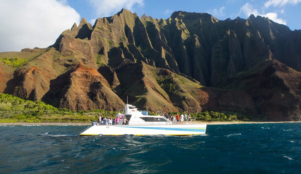 Our Kauai Snorkeling Tour Departs From Hanalei Bay On The