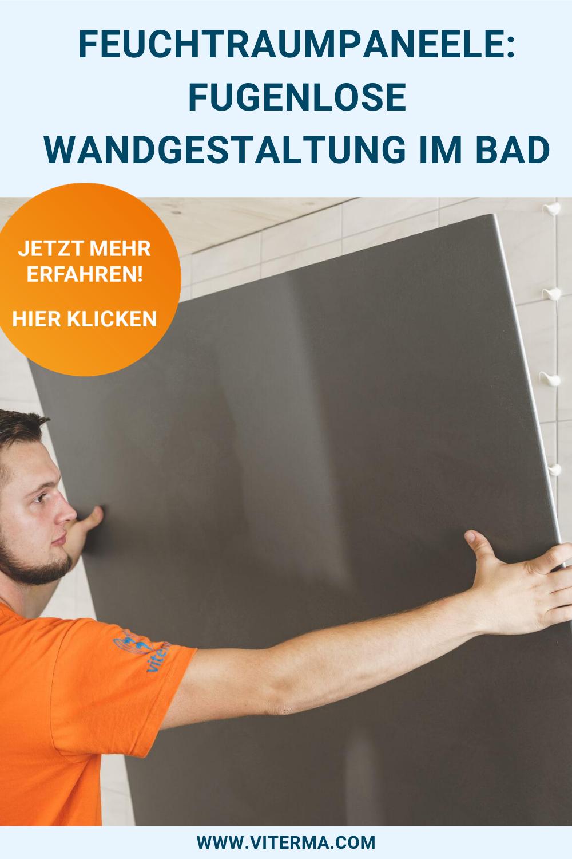 Feuchtraumpaneele Fugenlose Wandgestaltung Im Bad In 2020 Wandgestaltung Bad Paneele Wandpaneele