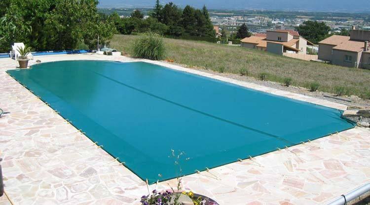 Cobertor de invierno para piscinas verde crema cubrepiscinas pinterest - Manta de invierno para piscina ...