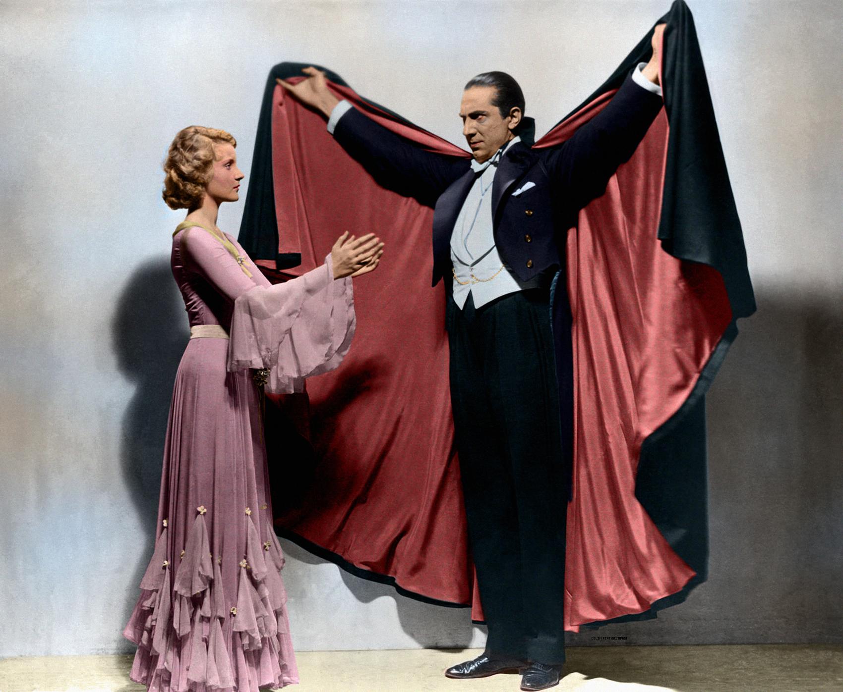 Bela Lugosi (1882-1956) in Dracula (1931) | #Colorization ...