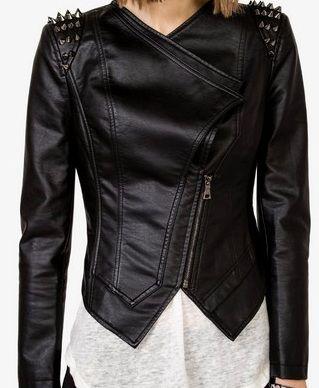 F21 studded jacket.