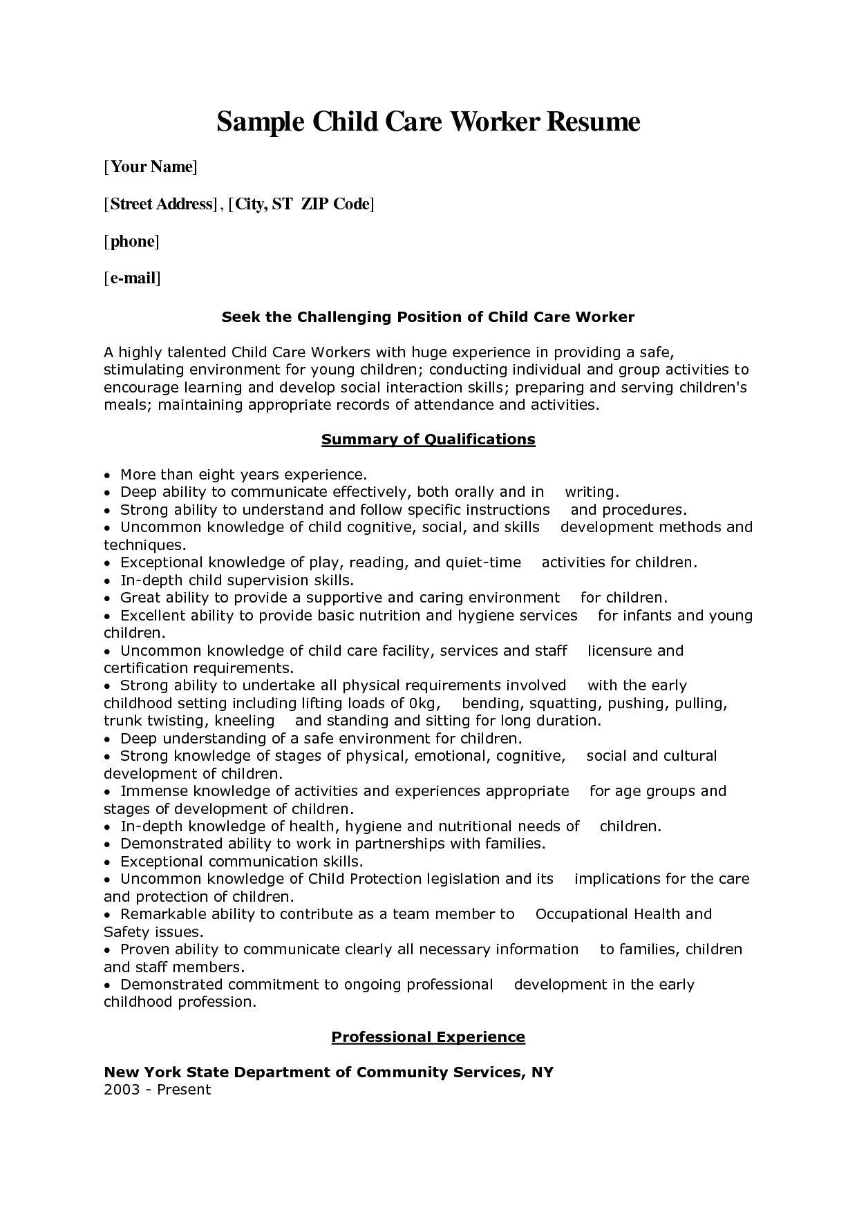 Professional Social Worker Cover Letter   Sample Cover Letter For ...