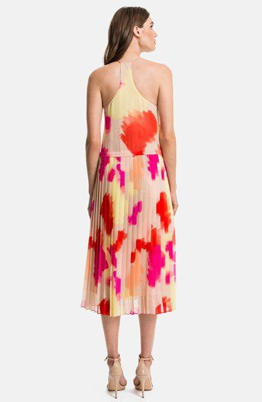 32+ 1state pleated overlay dress info