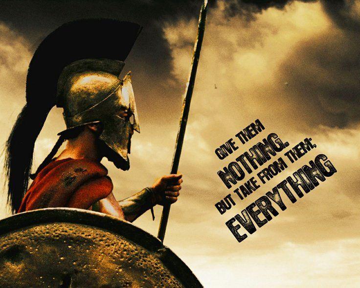 King Leonidas 300 Quotes. QuotesGram | Gerry Art | Pinterest | Spartan quotes, Warrior quotes ...
