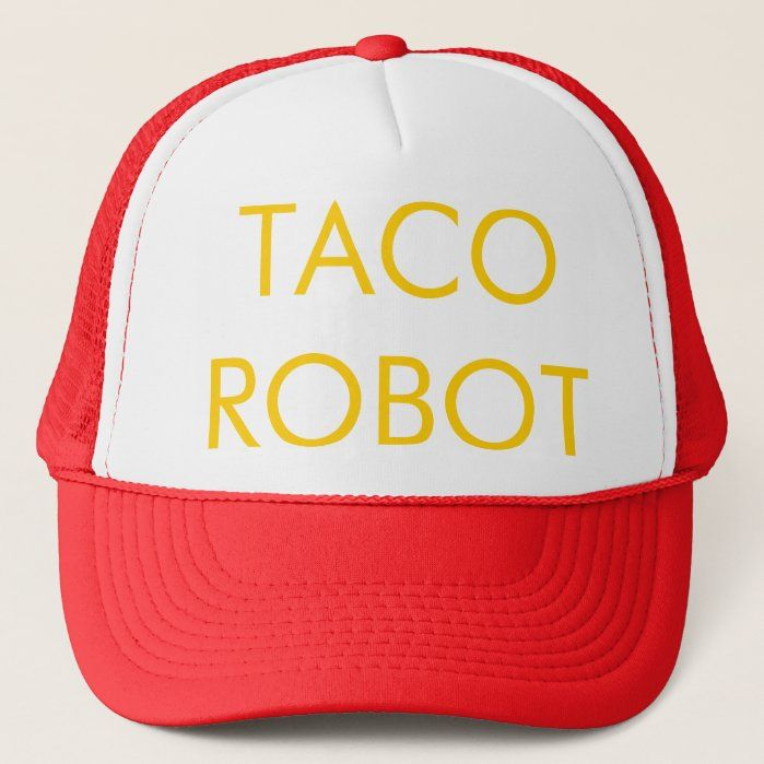 Inspired by Frank's TACO ROBOT hat in Season 7, Ep. 12 of 30 Rock Size: one size. Color: White and Red. Gender: unisex. Age Group: adult.