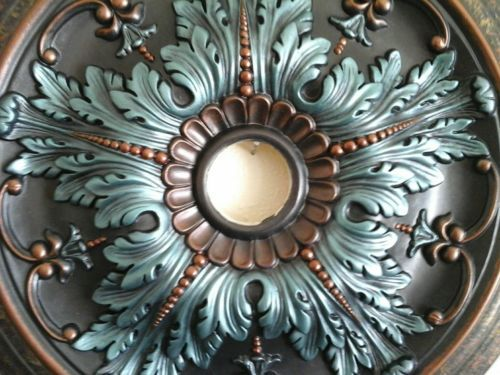 decorative ornate chandelier chandeliers medallions ceilings metal medallion ceiling square for
