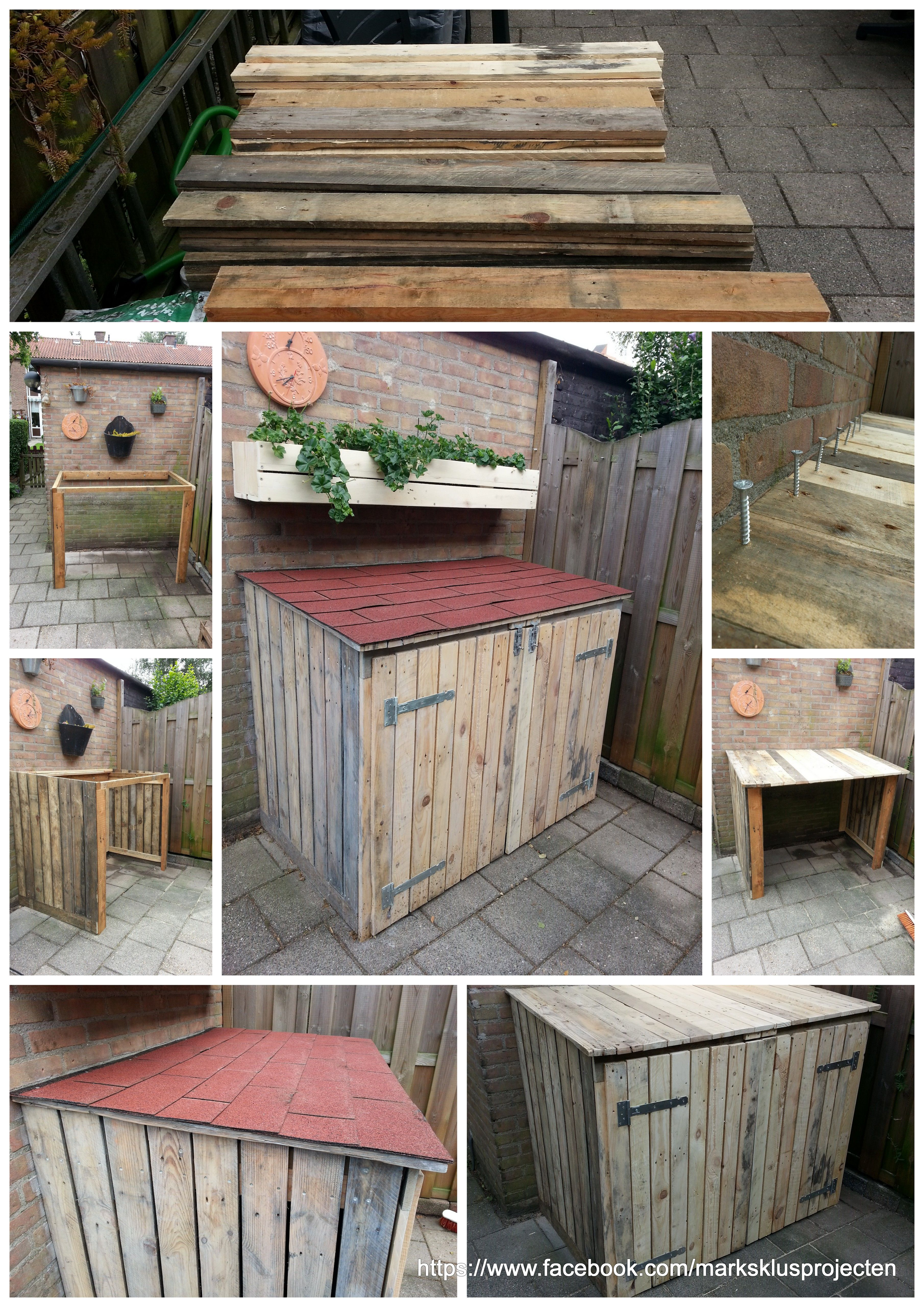 Cabinet made of pallet wood for more information check for Making cabinets out of pallets