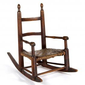 Astonishing Valley Of Virginia Turned Childs Rocking Chair On 1 Gmtry Best Dining Table And Chair Ideas Images Gmtryco
