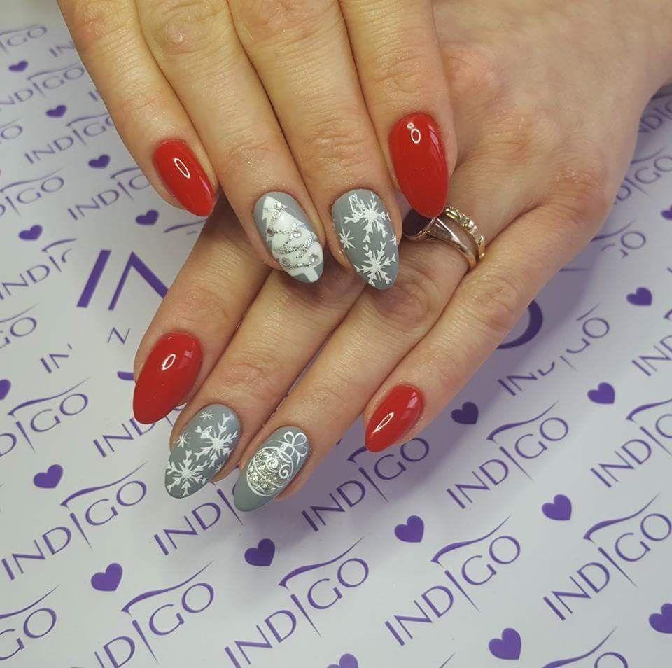 Puerto Rico Gel Brush | Winter nails, Nail nail and Xmas nails