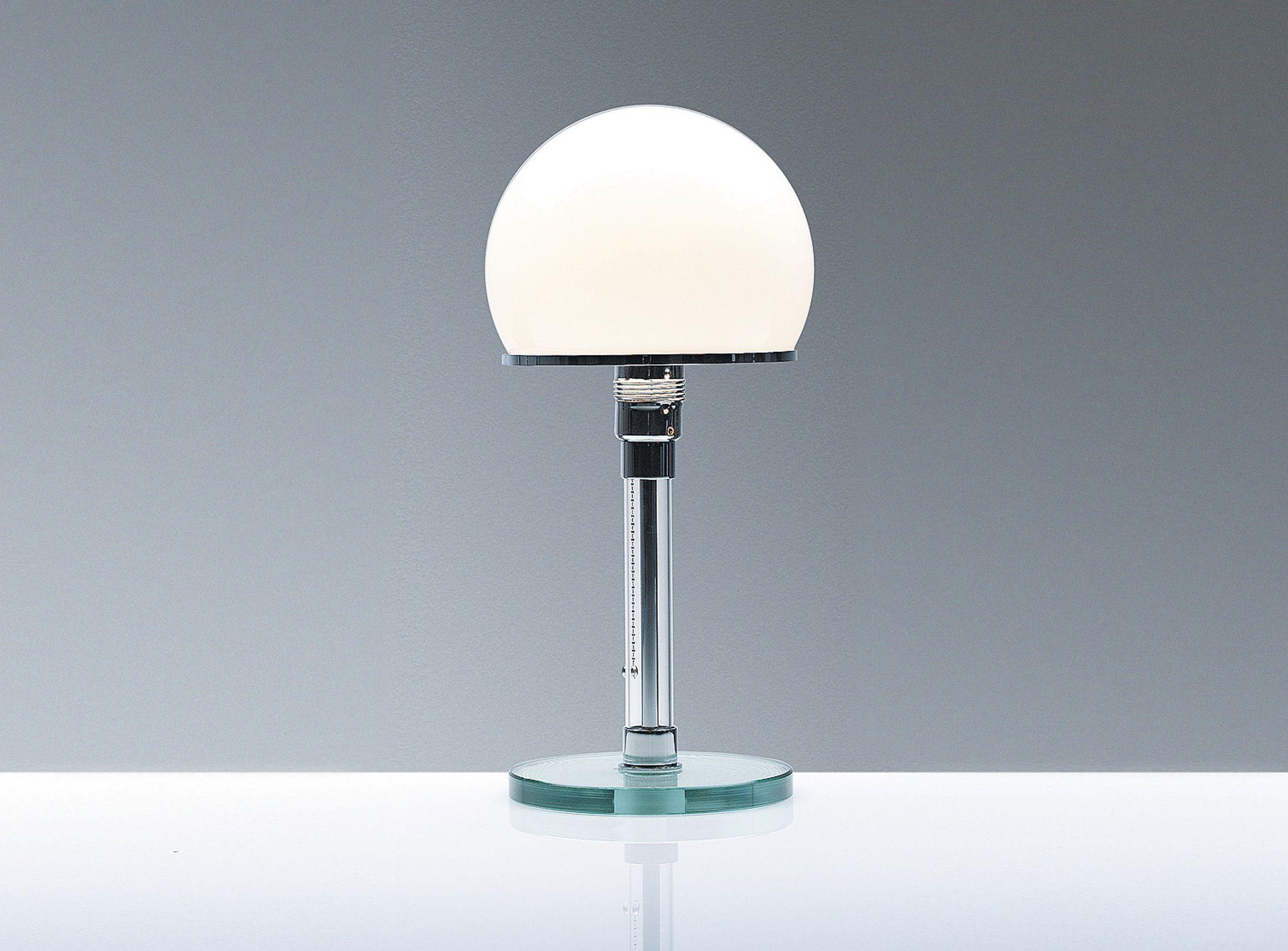 Wilhelm Wagenfeld lampe de chevet 1923 24 Bauhaus
